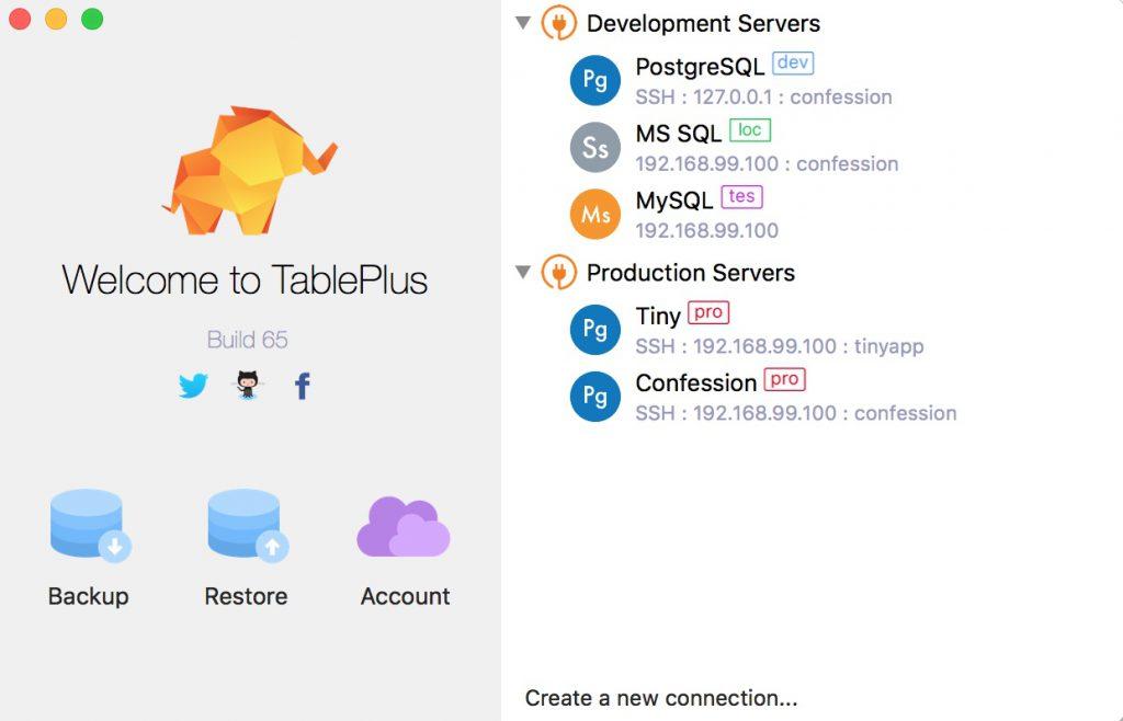 TablePlus,安全可靠的高性能数据库开发工具- 数码荔枝
