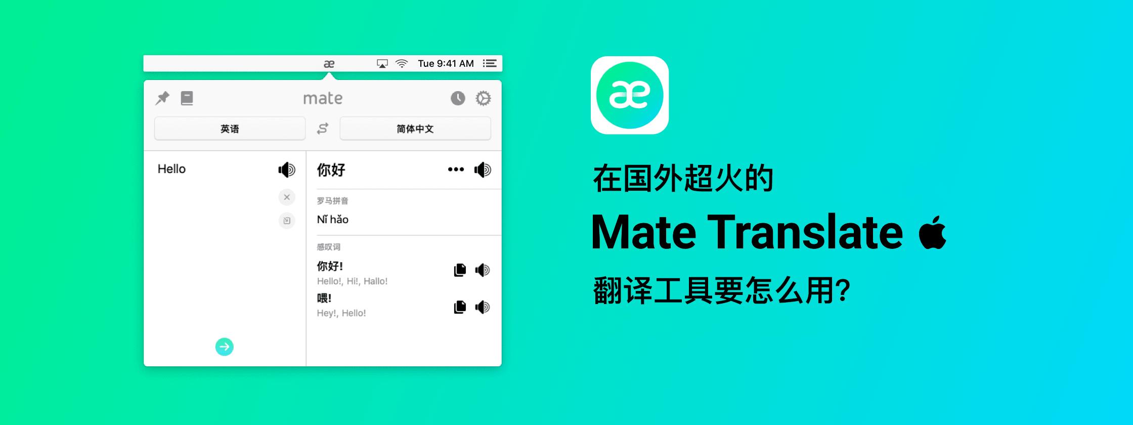 使用教程 | 在国外超火的 Mate Translate 翻译工具要怎么用?